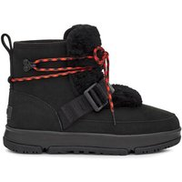UGG Womens Classic Weather Hiker Boot in Black, Size 6