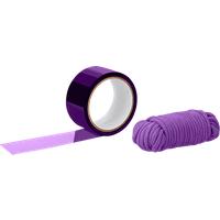 BondX Bondage Ribbon & Love Rope, 2 Teile