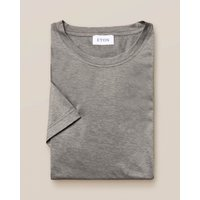 Grey Filo di Scozia Cotton T-Shirt