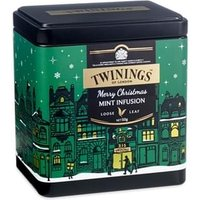 Click to view product details and reviews for Twinings Merry Christmas Mint Infusion Loose Tea Caddy 50g.