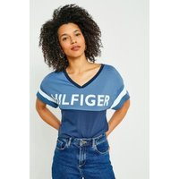 Tommy Hilfiger Vintage Logo T Shirt  Navy