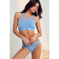 Tommy Hilfiger Cornflower Blue Bikini Knickers, blue