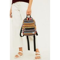 BDG Tapestry Stripe Mini Backpack, assorted