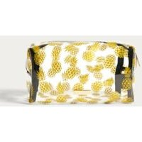 Skinnydip Gold Glitter Pineapple Make-Up Bag, Assorted
