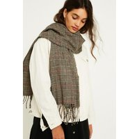 UO Prince Of Wales Check Scarf, brown