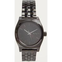 nixon time teller watch, black