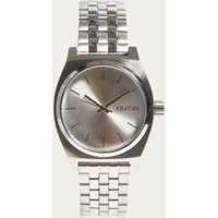 nixon time teller watch, silver