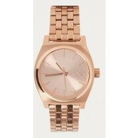 nixon time teller watch, rose