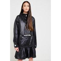 NICOPANDA Black Nylon Jacket, black