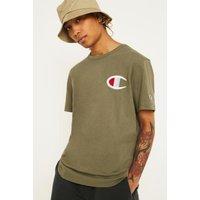 Champion C Logo Khaki T-Shirt, green
