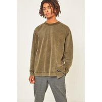 Cheap Monday Default Washed Khaki Sweatshirt, Khaki