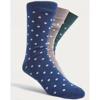 UO Polka Dot Socks Pack, Assorted