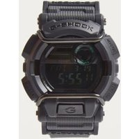gshock gd400mb1 black shock resistant watch, black