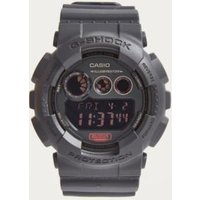 gshock gd120mb1 black illuminator watch, black