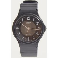 casio quartz analogue watch, black