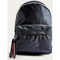 Tommy Jeans Logo Navy Backpack, blue