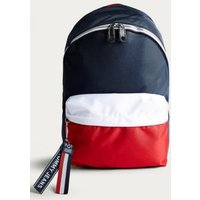Tommy Jeans Colour Block Logo Backpack, assorted