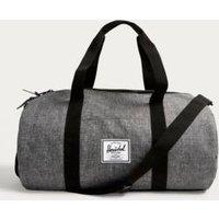 Herschel Supply Co. Sutton Mid Raven Crosshatch Weekender Holdall Bag, Grey