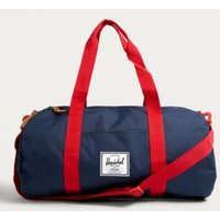Herschel Supply Co. Sutton Mid Navy and Red Weekender Holdall Bag, Navy