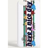 Have A Nice Day Floral iPhone 6/7/8 Case, Assorted