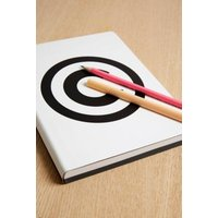 nuuna Copyright Logo Notebook, white
