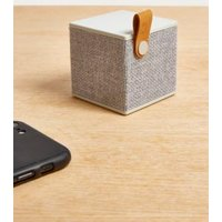 Fresh 'N Rebel Rockbox Cube Grey Wireless Speaker, Light Grey