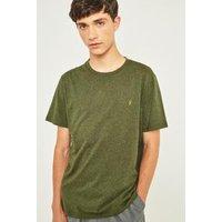 Farah Denny Evergreen Marl Short-Sleeve T-shirt, Green