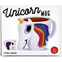 Unicorn Heat Changing Mug, Assorted