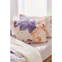 Premium Cabbage Rose Pillowcase Set, Pink