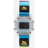 freestyle shark leash mini clear watch, blue