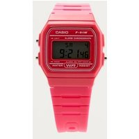 casio casual digital watch, pink