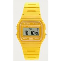 casio casual digital watch, yellow