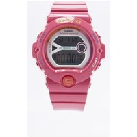 casio babyg bg69034b hot pink watch, pink