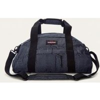 Eastpak Stand Black Checked Holdall Bag, Black