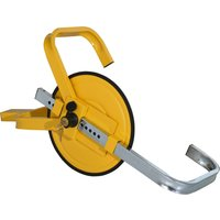 HOMCOM Wheel Clamp Lock for Φ47-67cm Wheels, Parking Tire Claw, Anti-Theft Device, Suitable for Cars, Trailer, Motorcycle, Lock w/ 2 Keys, Steel