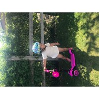 5in1 Kids Kick Scooter W/Removable SeatPink
