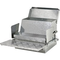 PawHut 11.5kg Capacity Automatic Chicken Poultry Feeder with a Galvanized Steel and Aluminium Build, Weatherproof Design