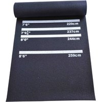 Professional Rubber Darts Mat W/4 Throwing Distances