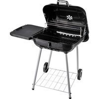 Outsunny Portable Charcoal Steel Grill BBQ Outdoor Picnic Camping Backyard w/ Wheels