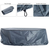 Outsunny Garden 23 Seater Sofa Cover Furniture Cover Set Water Resistant Allweather Shelter Protection OxfordGrey