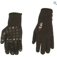 Rab Powerstretch Grip Glove - Size: L - Colour: Black
