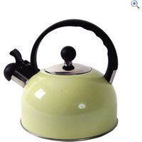 Quest Whistler 2.2L Camping Kettle - Colour: Cream