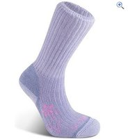 Bridgedale MerinoFusion Trekker Womens Hiking Socks - Size: L - Colour: Lavender