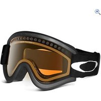 Oakley E-Frame Goggles (Black/Persimmon) - Colour: JET BLACK