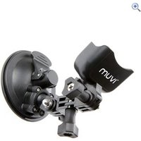 Veho MUVI Universal Suction Mount With Cradle - Colour: Black