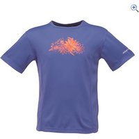 Regatta Starcrest Kids Tee - Size: 5-6 - Colour: BLUEBERRY PIE