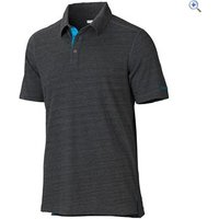 Marmot Wallace Polo Short Sleeved Tee - Size: L - Colour: SLATE GREY