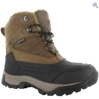 Hi-Tec Snow Peak 200 Waterproof Junior Winter Boot - Size: 13 - Colour: TAN-BLACK