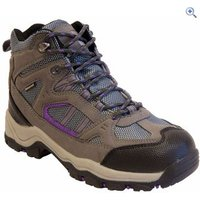 Freedom Trail Lowland II WP Mid Womens Walking Boot - Size: 4 - Colour: GREY-MULBERRY