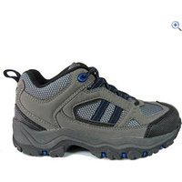 Freedom Trail Lowland II Boys Walking Shoe - Size: 5 - Colour: Grey / Blue